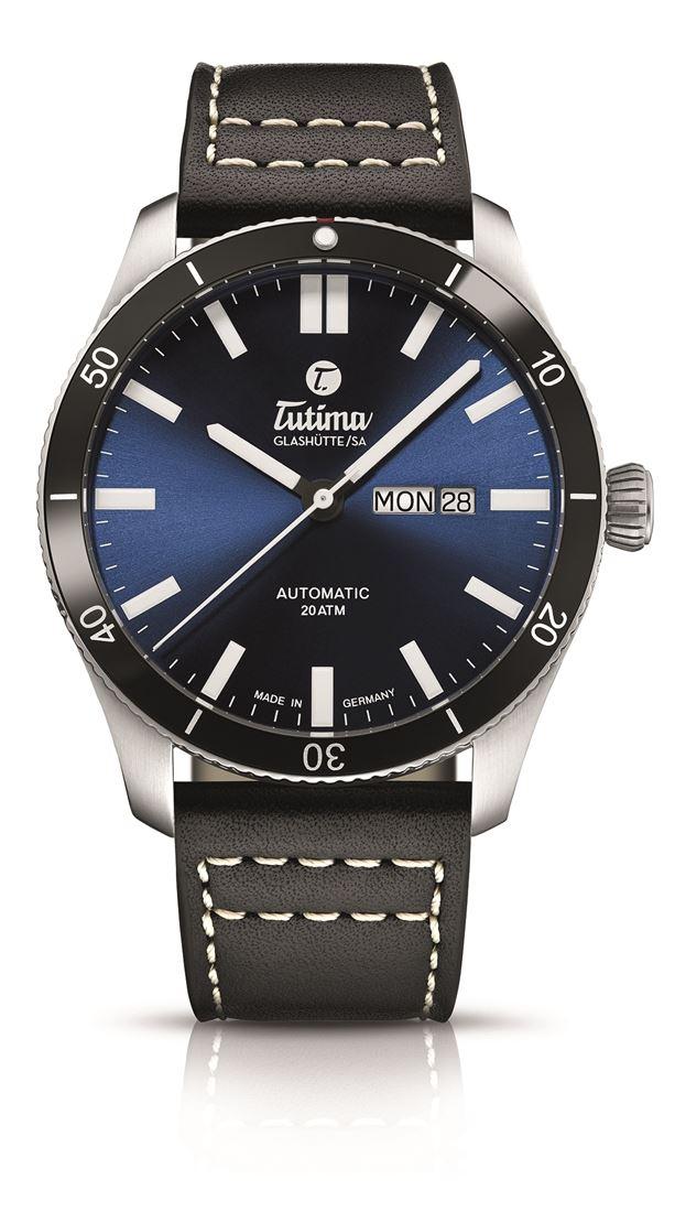 チュチマ Tutima 6101-03 グランドフリーガー エアポート オートマチック 正規品 腕時計