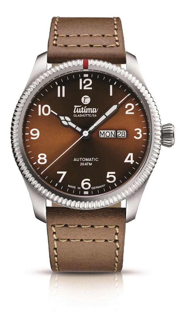 正規品 Tutima チュチマ 6102-03 グランドフリーガー クラシック オートマチック 腕時計
