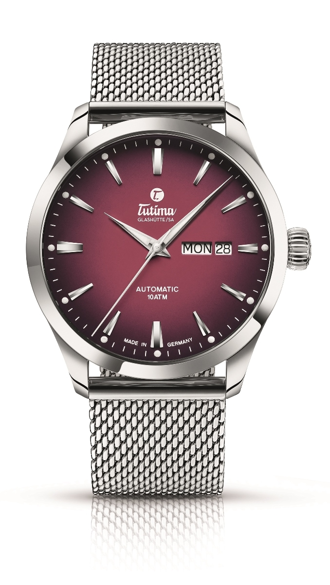 ※チュチマ Tutima 6105-26 フリーガー スカイ オートマチック 正規品 腕時計