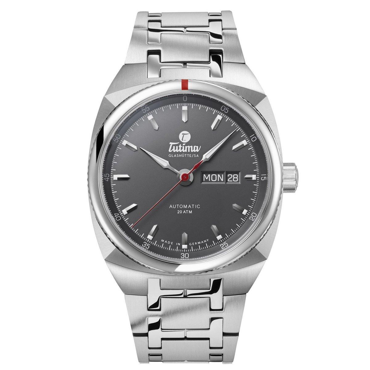 チュチマ Tutima 6120-01 サクソン ワン オートマチック 正規品 腕時計