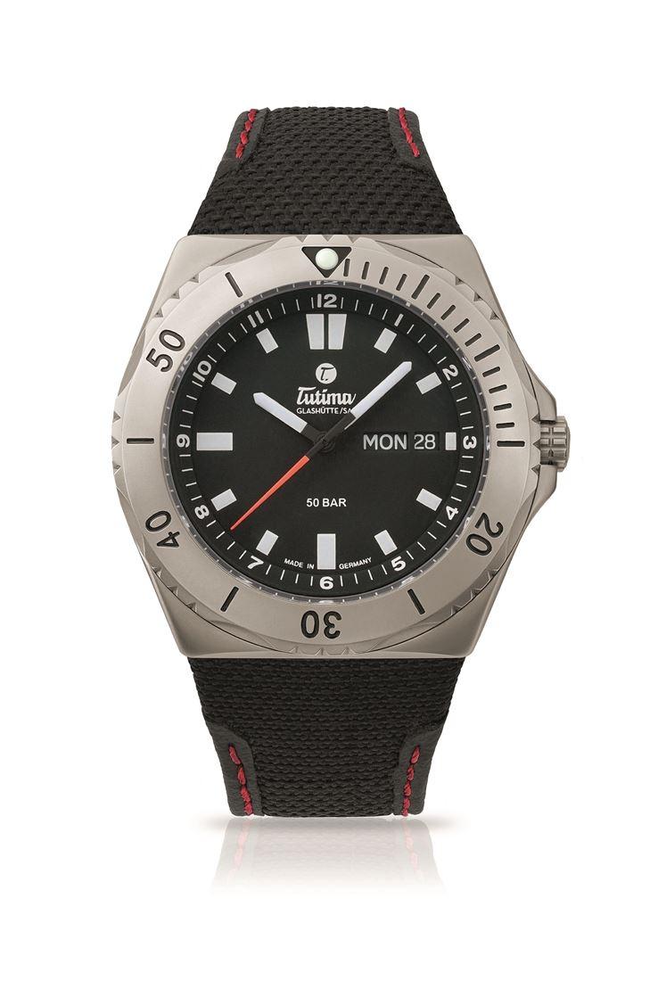正規品 Tutima チュチマ 6151-01 M2 セブンシーズ 腕時計