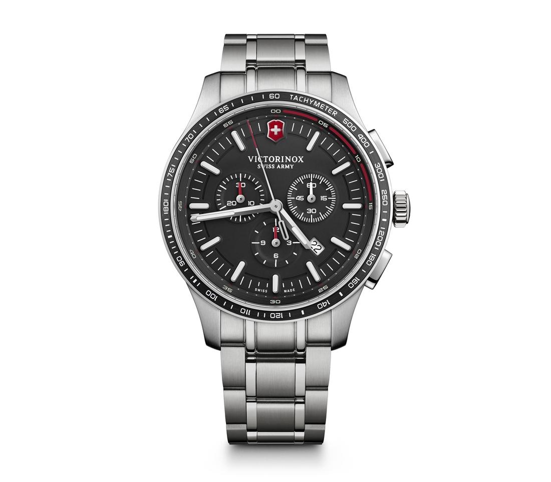 正規品 VICTORINOX ビクトリノックス 241816 アライアンス スポーツ クロノグラフ 腕時計