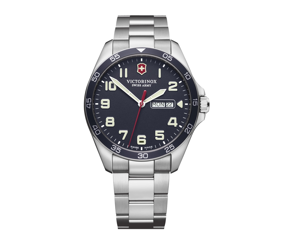 ビクトリノックス VICTORINOX 241851 フィールドフォース ネイビーダイヤル 正規品 腕時計