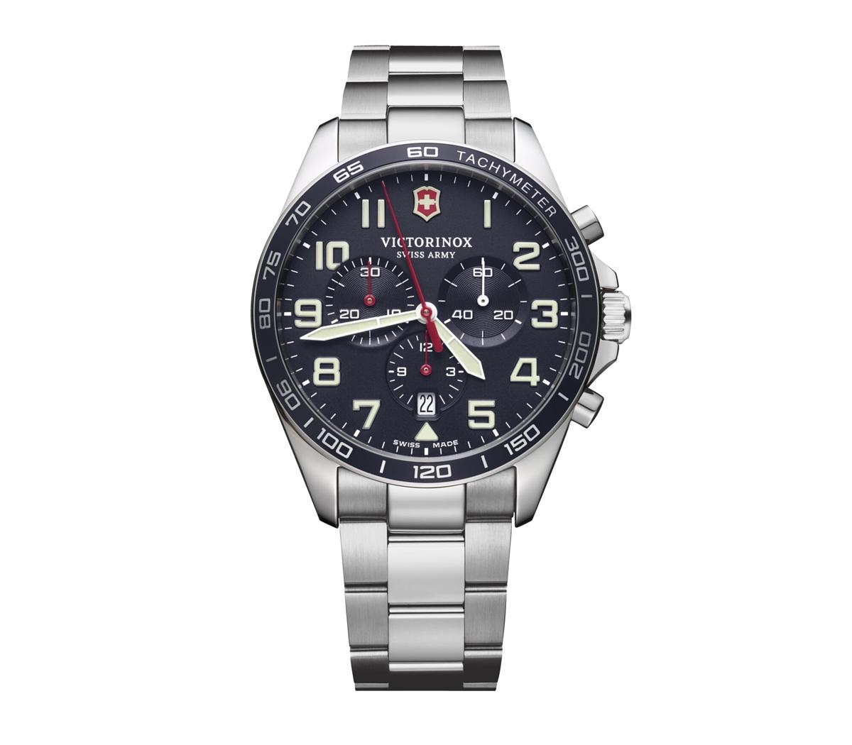 ビクトリノックス VICTORINOX 241857 フィールドフォース クロノネイビーダイヤル 正規品 腕時計
