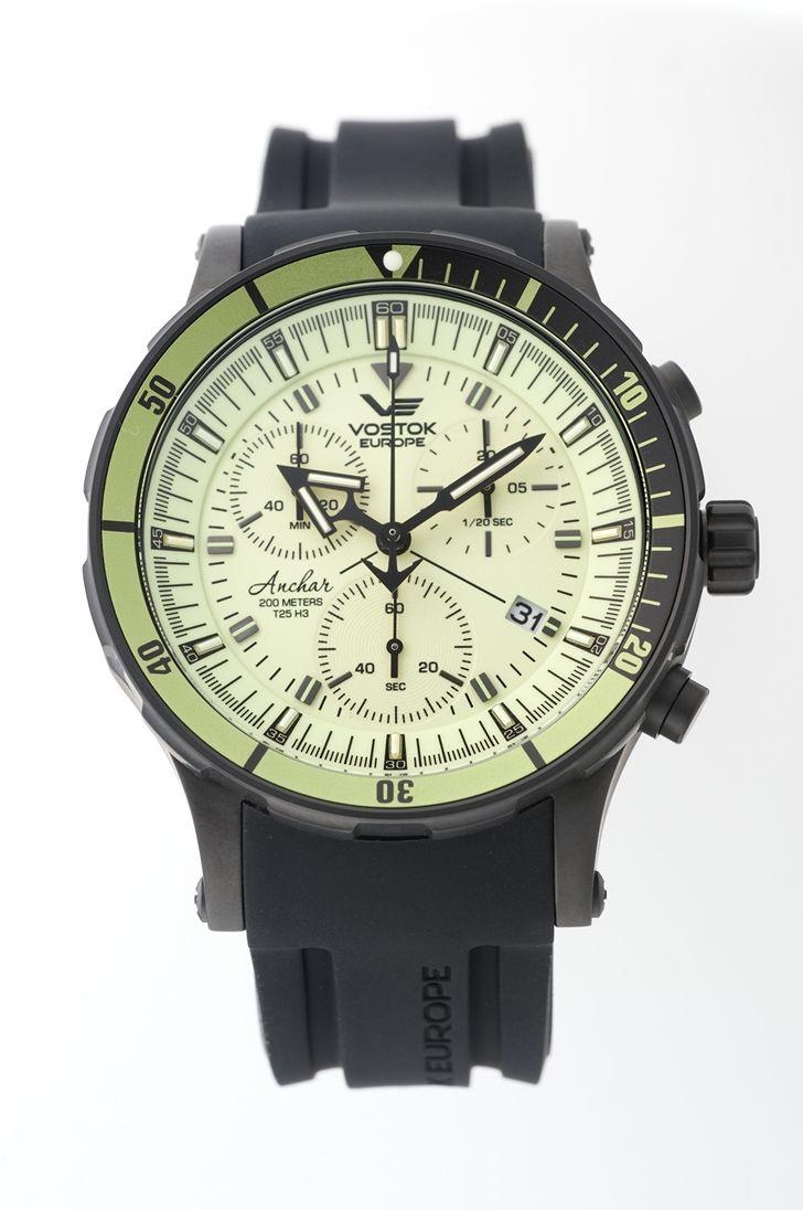 正規品 VOSTOK EUROPE ボストーク ヨーロッパ 6S30-5104243 ANCHAR アンチャール クロノライン 腕時計