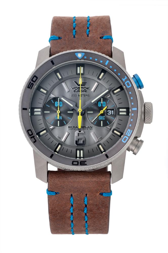 正規品 VOSTOK EUROPE ボストーク ヨーロッパ 6S21-546H514 エクラノプラン 腕時計