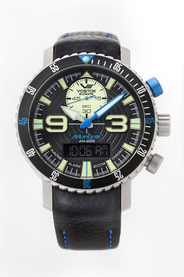 正規品 VOSTOK EUROPE ボストーク ヨーロッパ 9516-5555249 MRIYA ムリヤ 多機能モデル 腕時計