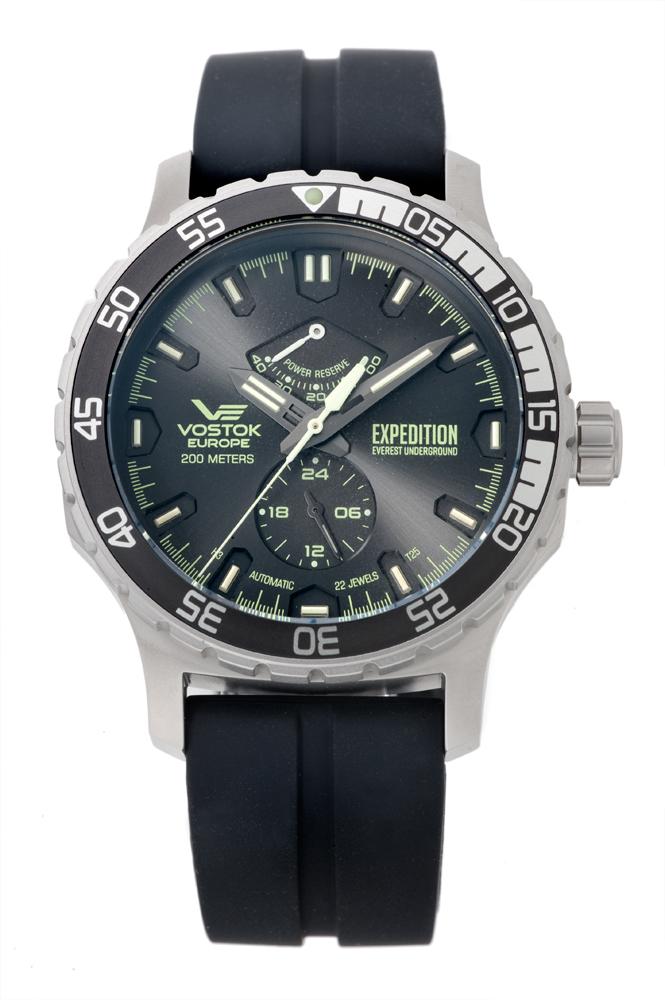 正規品 VOSTOK EUROPE ボストーク ヨーロッパ YN84-597A543 エクスペディション エベレスト アンダーグラウンド 腕時計