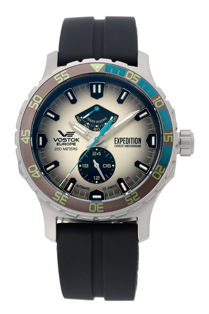 正規品 VOSTOK EUROPE ボストーク ヨーロッパ YN84-597A544 エクスペディション エベレスト アンダーグラウンド 腕時計