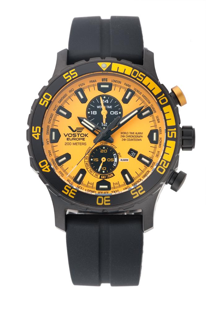 正規品 VOSTOK EUROPE ボストーク ヨーロッパ YM8J-597C548 エクスペディション エベレスト アンダーグラウンド 腕時計