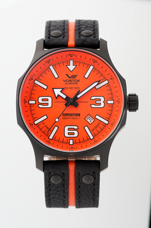 """VOSTOK EUROPE NH 35A-5954197 """"EXPEDITION NORTHPOLE-1 Automatic Line"""""""