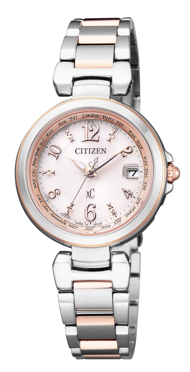 クロスシー XC シチズン CITIZEN 正規メーカー延長保証付き EC1036-53W エコ・ドライブ 電波時計 正規品 腕時計