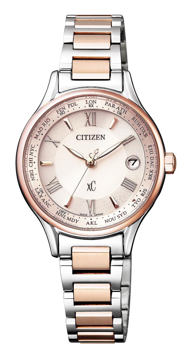 クロスシー XC シチズン CITIZEN 正規メーカー延長保証付き EC1165-51W エコ・ドライブ 電波時計 正規品 腕時計