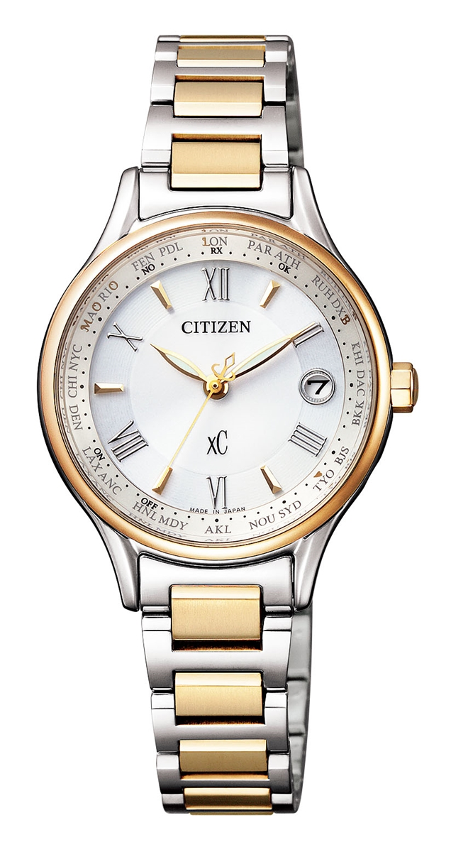 クロスシー XC シチズン CITIZEN 正規メーカー延長保証付き EC1166-58A エコ・ドライブ 電波時計 正規品 腕時計