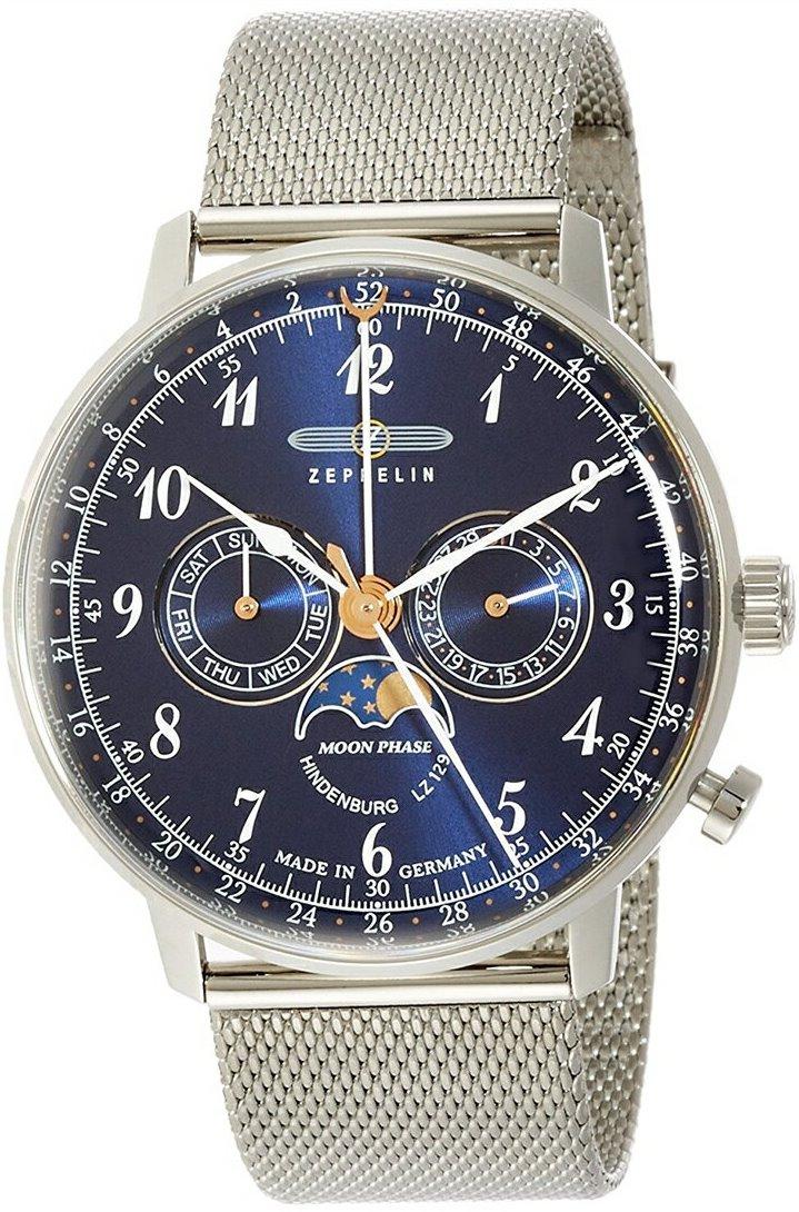 【今ならオリジナル折り畳み傘プレゼント】 ツェッペリン ZEPPELIN 7036M3 LZ129 Hindenburg ヒンデンブルク 正規品 腕時計