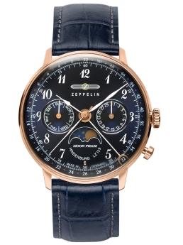 【今ならオリジナル折り畳み傘プレゼント】 ツェッペリン ZEPPELIN 70393 LZ129 Hindenburg ヒンデンブルク 正規品 腕時計
