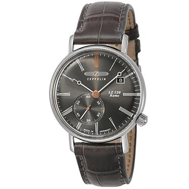 【今ならオリジナル折り畳み傘プレゼント】 ツェッペリン ZEPPELIN 7135-2 LZ120 ローマ 正規品 腕時計