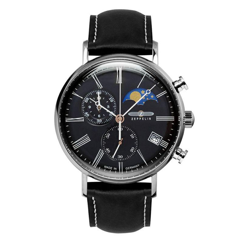【今ならオリジナル折り畳み傘プレゼント】 ツェッペリン ZEPPELIN 7194-2 LZ120 ローマ 正規品 腕時計