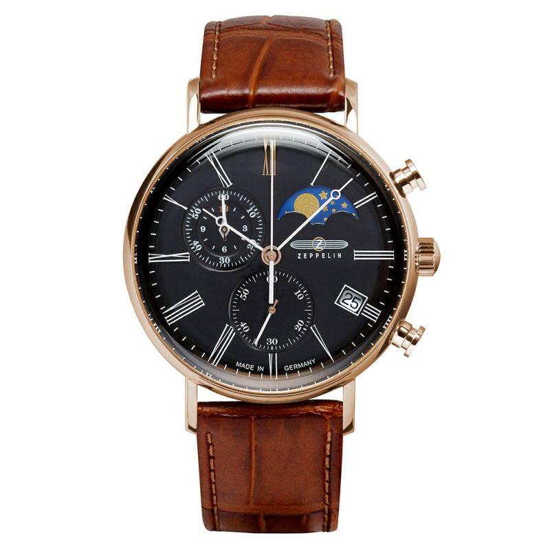 【今ならオリジナル折り畳み傘プレゼント】 ツェッペリン ZEPPELIN 7196-2 LZ120 ローマ 正規品 腕時計