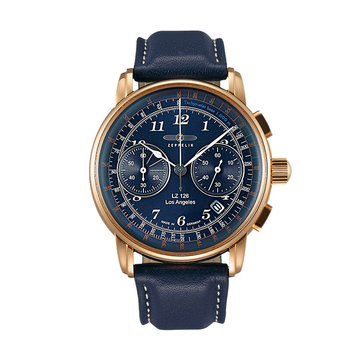 正規品 ZEPPELIN ツェッペリン 7616-3 LZ126 Los Angeles ロサンゼルス 日本限定モデル 腕時計