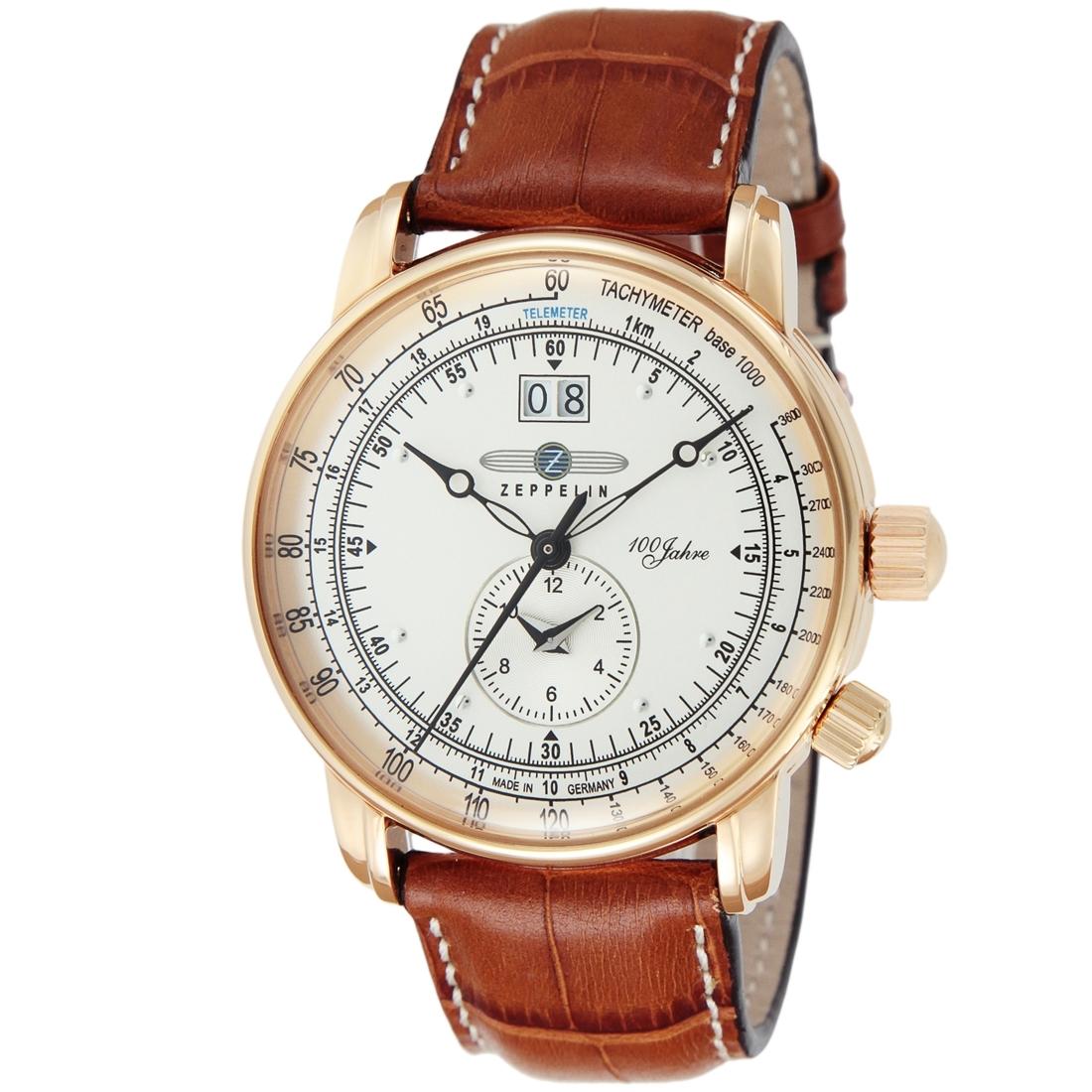 【今ならオリジナル折り畳み傘プレゼント】 ツェッペリン ZEPPELIN 76405 ZEPPELIN号100周年記念モデル 正規品 腕時計