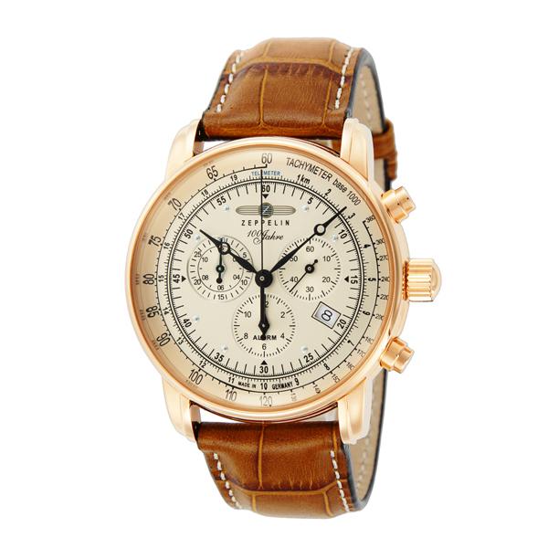 正規品 ZEPPELIN ツェッペリン 76805 Special Edition 100 Years ZEPPELIN ZEPPELIN号100周年記念モデル 腕時計