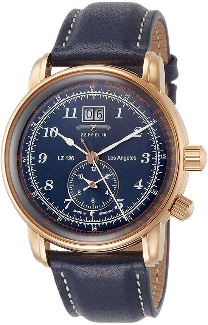 正規品 ZEPPELIN ツェッペリン 86463 LZ126 Los Angeles ロサンゼルス 日本限定モデル 腕時計
