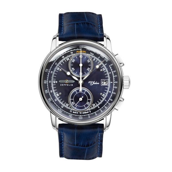 【今ならオリジナル折り畳み傘プレゼント】 ツェッペリン ZEPPELIN 8670-3 100周年記念モデル 正規品 腕時計