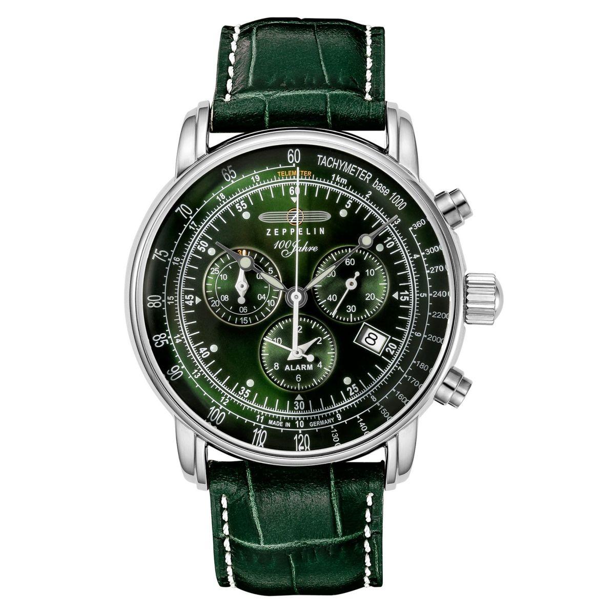 【今ならオリジナル折り畳み傘プレゼント】 ツェッペリン ZEPPELIN 8680-4 100周年記念モデル 日本限定モデル 替えベルト付き 正規品 腕時計
