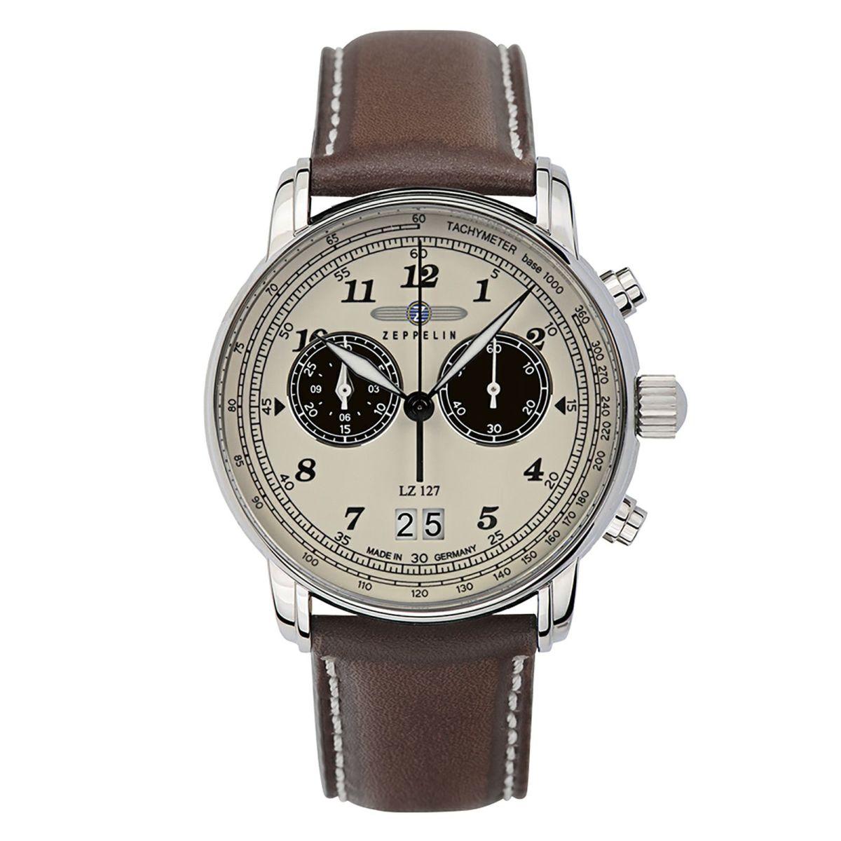 【今ならオリジナル折り畳み傘プレゼント】 ツェッペリン ZEPPELIN 8684-5 グラーフツェッペリン 正規品 腕時計