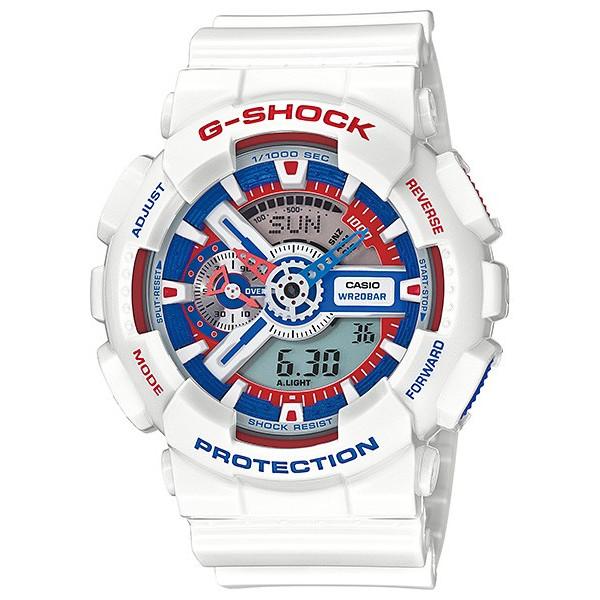 [カシオ] CASIO Gショック G-SHOCK GA-110TR-7A トリコロール [並行輸入品]