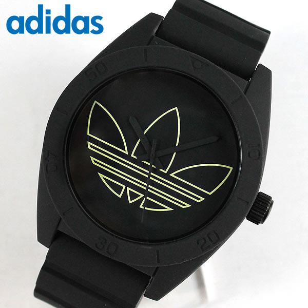 adidas originals 腕時計時計 ペア サンティアゴ SANTIAGO ADH2855 黒 ブラック メンズ 腕時計 海外モデル誕生日プレゼント 男性 女性 クリスマス ギフト