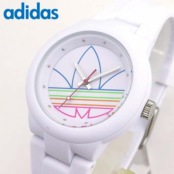 d23832e944dc1 adidas アディダス かわいい 時計 白 ランニング adidas originals オリジナルス ABERDEEN アバディーン  ADH3015 海外モデル レディース