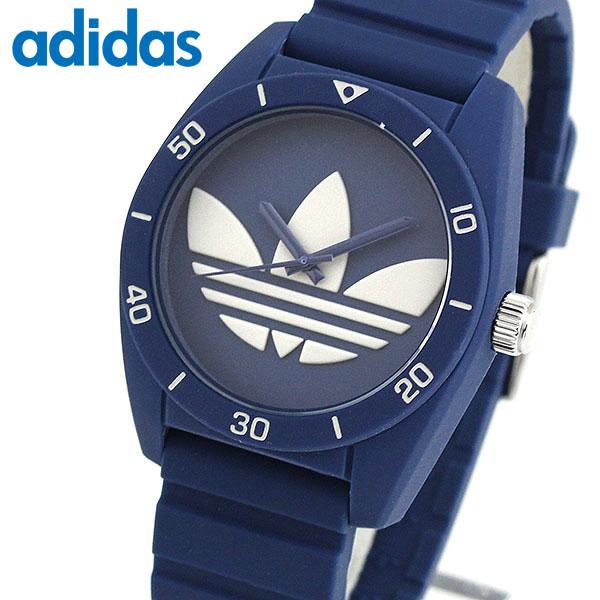 adidas アディダス SANTIAGO サンティアゴ ADH3138 海外モデル メンズ 腕時計 ウォッチ シリコン ラバー バンド クオーツ アナログ 青 ネイビー 誕生日プレゼント 男性 卒業祝い 入学祝い ギフト