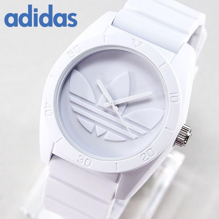 adidas originals white watch