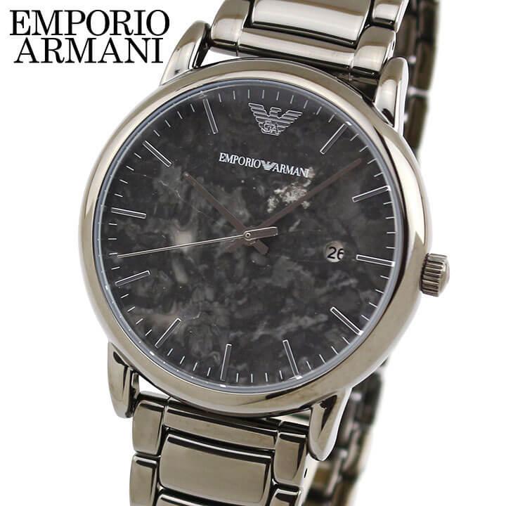 【先着!250円OFFクーポン】EMPORIO ARMANI エンポリオアルマーニ メンズ 腕時計 ウォッチ グレー AR11155 海外モデル 誕生日プレゼント メンズ ギフト