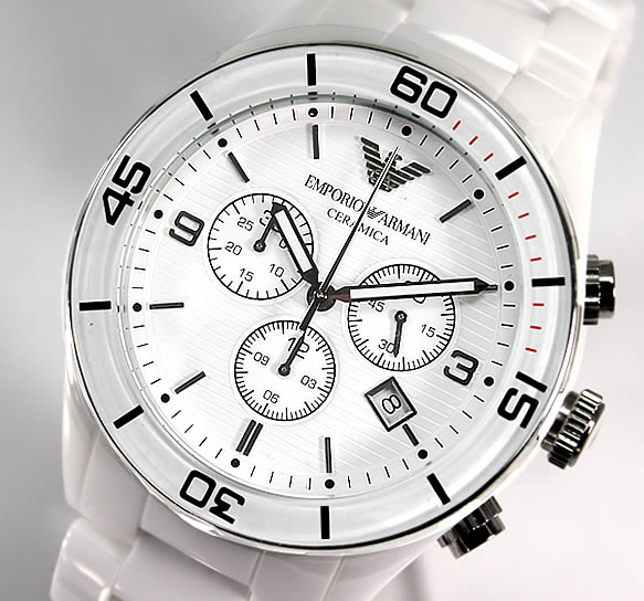 bda7043bbee4c AR1424 Emporio Armani men's watch watches overseas imported models; ○!