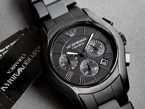 bbff5625f2d Watch store Kato tokeiten  AR1457 Emporio Armani Ceramica mens watch watch  overseas imported