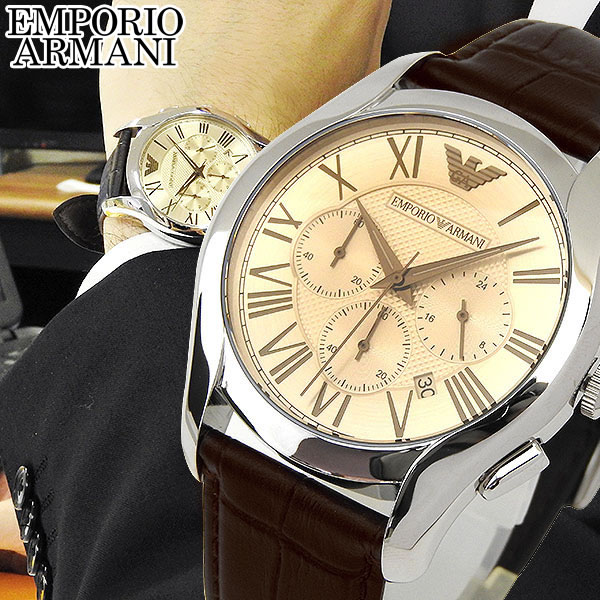 【送料無料】EMPORIO ARMANI エンポリオアルマーニ AR1785 メンズ 腕時計 watch クロノグラフ 海外モデル クラシック 誕生日プレゼント 男性 父の日 ギフト
