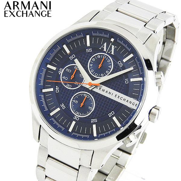 【送料無料】ARMANI EXCHANGE ax armani exchange アルマーニ エクスチェンジ クロノグラフ ネイビー ブルー メンズ 腕時計 watch AX2155 海外モデル 誕生日プレゼント 男性 卒業祝い 入学祝い ギフト