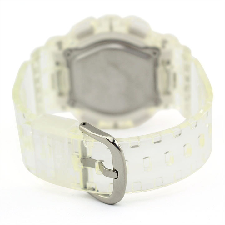 CASIO カシオ Baby-G ベビ−G BA-110CR-7A レディース 腕時計 ウレタン 多機能 クオーツ アナログ デジタル 白 ホワイト グレー 海外モデル 誕生日プレゼント 女性 卒業祝い 入学祝い ギフト
