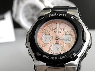 日本发行的模型卡西欧卡西欧宝贝-g BGA-110-1B 黑色婴儿 G 海外女性时尚手表女士手表手表新年