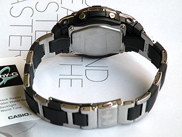 卡西欧卡西欧宝贝 g BGA-112 C-1B 索引是银跛子 ! 复合带婴儿 G 宝贝说海外模型模拟女式手表手表