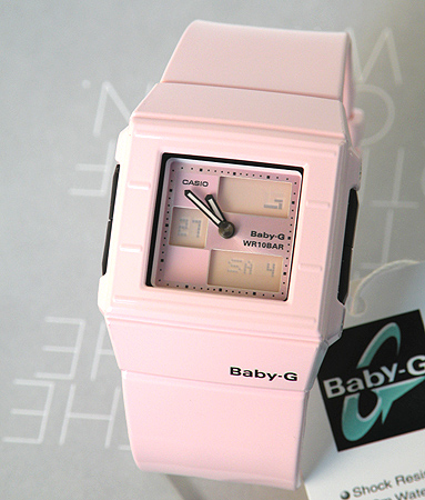 6d993e15e0 Popular Casio baby G BGA-200-4E2DR baby-g square face Pink ladies watch  ladies watch watch