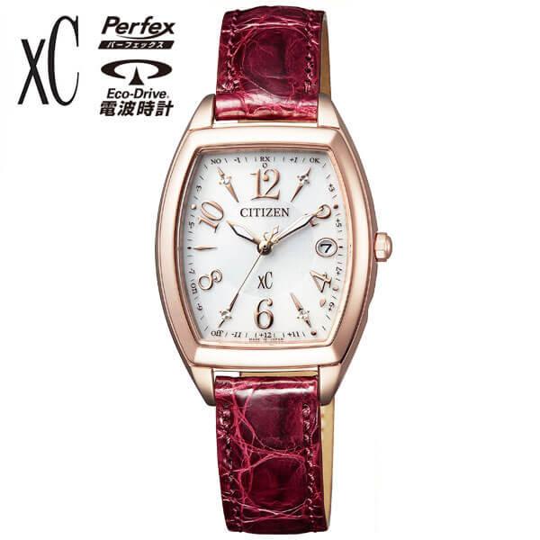 シチズン クロスシー ソーラー電波時計 エコドライブ ハッピーフライト 腕時計 レディース CITIZEN xC ES9394-56A 国内正規品 誕生日 女性 ギフト プレゼント 商品到着後レビューを書いて7年保証 新社会人 時計