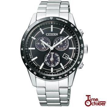 【CITIZEN】シチズン 腕時計 時計 BL5594-59Eブラック エコドライブ メタルフェイスクロノグラフ シチズン 腕時計 時計 コレクション/メンズ 誕生日 男性 ギフト プレゼント 新社会人