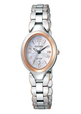 CITIZEN【シチズンコレクション】EX2044-54W白蝶貝文字板レディース 腕時計【EXCEED】エクシード エコドライブ時計 誕生日プレゼント 女性 ギフト