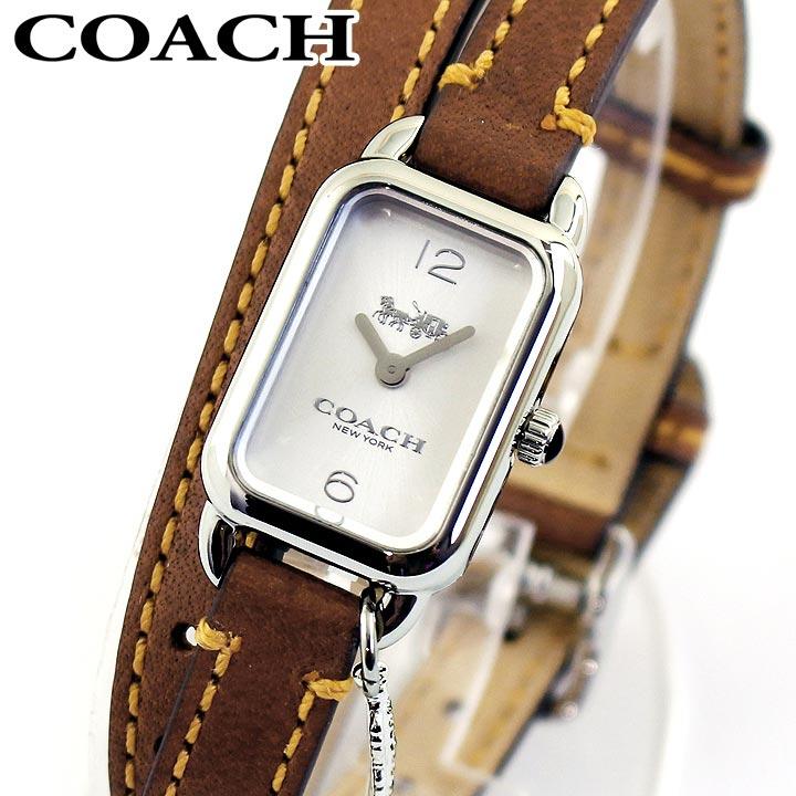 【送料無料】COACH コーチ LUDLOW ラドロー 14502775 レディース 腕時計 革ベルト レザー シルバー ブラウン 茶色 誕生日プレゼント 女性 卒業祝い 入学祝い ギフト 海外モデル