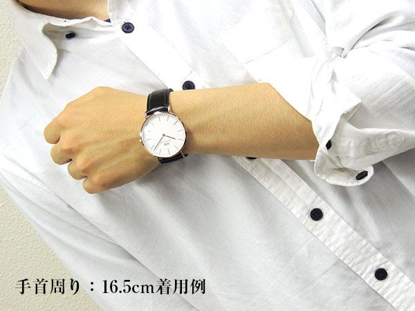 Daniel Wellington ダニエルウェリントン メンズ 腕時計 北欧レザー 革ベルト 黒 ブラック ピンクゴールド ローズゴールド アナログ クオーツ ペアに 0107DW DW00600007 海外モデル 40mm 誕生日プレゼント 男性 父の日 ギフト