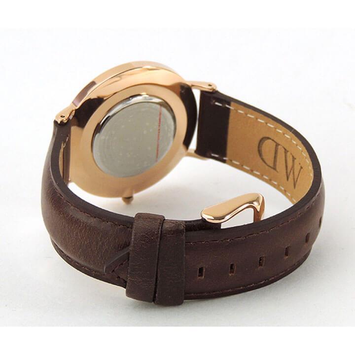 Daniel Wellington ダニエルウェリントン 36mm メンズ レディース 腕時計 北欧 男女兼用 時計 レザーベルト 茶色系 0511DW DW00600039 海外モデル 誕生日プレゼント 男性 女性 ギフト